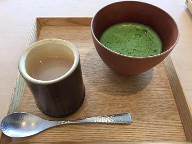 東京 表参道の抹茶カフェ!「茶洒 金田中」へ行ってきました。
