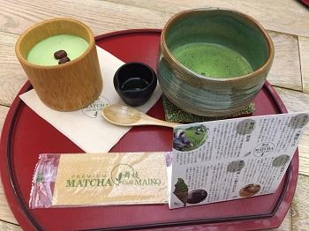 ハワイで大人気!東京・表参道の「抹茶カフェ舞妓」へ行ってきました